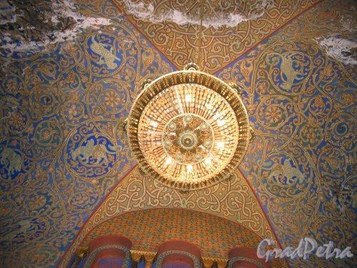 Якорная пл. (Кронштадт), д. 5. Морской собор Святого Николая Чудотворца. Роспись купола. Фото август 2006 г.