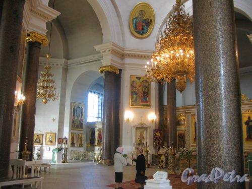 Софийская пл. (Пушкин), д.1. Вознесенский (Софийский) собор. Интерьер. Фото сентябрь 2007 г.