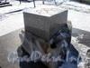 Памятный знак к 300-летию Санкт-Петербурга на Государевом бастионе Петропавловской крепости. Март 2009 г.