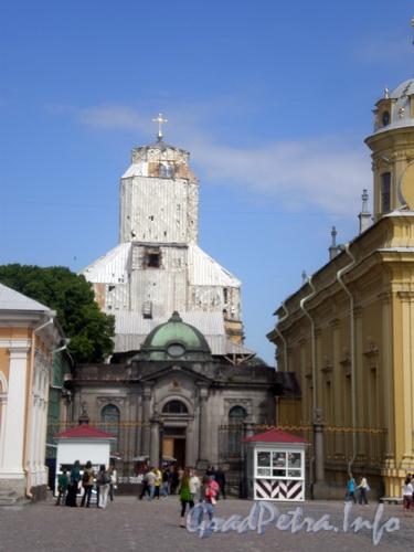 Петропавловская крепость, д. 7 лит Б, Великокняжеская усыпальница. Фото 2008 г.