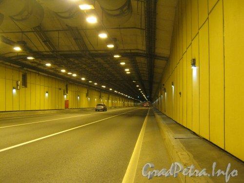КАД в тоннеле в г. Кронштадт. Фото 20 июля 2012 г.