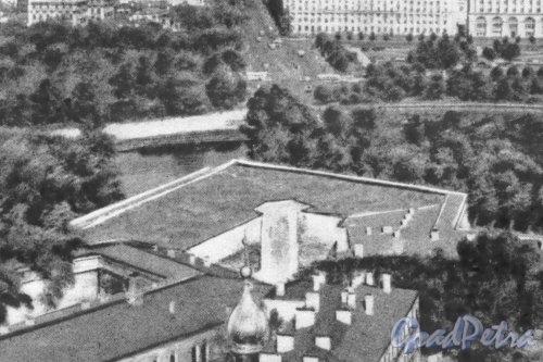 Меншиков бастион Петропавловской крепости. Фотоальбом «Ленинград», 1959 г.