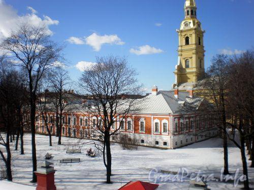 Петропавловская крепость, д. 4. Комендантский дом. Март 2009 г.