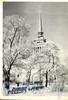 Адмиралтейский пр-д., д. 1. Адмиралтейство. Фото Н. Лаврентьева, 1966 г. (старая открытка)