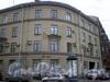 Лермонтовский пр., д. 13 / наб. канала Грибоедова, д. 130. Угловая часть здания. Фото ноябрь 2009 г.