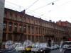 Владимирский пр., д. 3. Доходный дом П. И. Лихачева. Общий вид здания. Фото декабрь 2009 г.