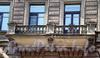 Владимирский пр., д. 7. Бывший доходный дом. Балкон. Фото август 2009 г.