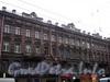 Владимирский пр., д. 7. Бывший доходный дом. Фасад здания. Фото декабрь 2009 г.