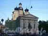 Собор иконы Владимирской Божьей Матери (Владимирский собор) на Владимирской площади. Начало реставрации. Фото июнь 2004 г.