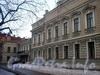 Большой пр., В.О., д. 48. Дом совета и богадельня лютеранской церкви св. Петра. Общий вид здания. Фото март 2004 г.
