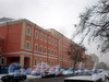 Греческий пр., д. 2. Корпуса Детской больницы принца П. Г. Ольденбургского (больницы им. К.А.Раухфуса) после реконструкции. Вид от 2-ой Советской улицы. Фото февраль 2010 г.