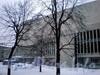 Лиговский пр., д. 6. Большой концертный зал «Октябрьский». Фасад здания по 5-ой Советской улице. Фото февраль 2010 г.