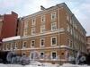 Греческий пр., д. 6 / 5-я Советская ул., д. 6. Бывший доходный дом. Общий вид здания. Фото декабрь 2009 г.