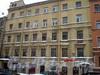 Греческий пр., д. 11. Бывший доходный дом. Фасад здания. Фото декабрь 2009 г.