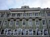 Греческий пр., д. 23. Бывший доходный дом. Фрагмент фасада здания. Фото декабрь 2009 г.