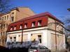Большеохтинский пр., д. 5, корп. 2. Дворовый флигель. Вид сзади. Фото апрель 2009 г.