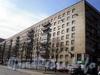 Большеохтинский пр., д. 6.жилой дом. Общий вид здания. Фото апрель 2009 г.