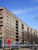 Большеохтинский пр., д. 10.жилой дом. Фасад здания. Фото апрель 2009 г.
