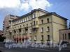 Большеохтинский пр., д. 17. Общий вид здания. Фото апрель 2009 г.