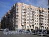 Большеохтинский пр., д. 27.жилой дом. Общий вид здания. Фото апрель 2009 г.