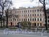 Большой пр. В.О., д. 2 / 1-я линия В.О., д. 18.  Доходный дом И. В. Голубина (И. И. Зайцевского). Фасад по проспекту. Фото май 2010 г.