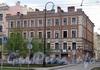 Большой пр. В.О., д. 4 / ул. Репина, д. 19. Бывший доходный дом. Общий вид здания. Фото май 2010 г.