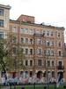 Большой пр. В.О., д. 5. Доходный дом Ю.А. Ломача. Фасад здания. Фото май 2010 г.