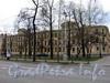 Большой пр. В.О., д. 6 / 2-я линия В.О., д. 13 / ул. Репина, д. 14. Доходный дом В. Ф. Громова. Фасад здания по проспекту. Фото май 2010 г.