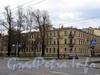 Большой пр. В.О., д. 6 / 2-я линия В.О., д. 13. Доходный дом В. Ф. Громова. Общий вид. Фото май 2010 г.