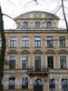Большой пр. В.О., д. 6. Доходный дом В. Ф. Громова. Фрагмент фасада здания. Фото май 2010 г.
