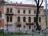 Большой пр. В.О., д. 10. Особняк А.Ф. Юнкера (Л.В. Голубева). Фасад здания. Фото май 2010 г.