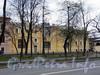 Большой пр. В.О., д. 12 / 4-я линия В.О., д. 1-3. Бывший литейный двор и мастерские Академии художеств. Фасад здания по проспекту. Фото май 2010 г.
