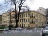 Большой пр. В.О., д. 17 / 5-я линия В.О., д. 16 (левая часть). Дом А. А. Куракиной (Э. П. Шаффе). Общий вид после реставрационных работ. Фото май 2010 г.