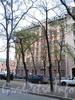 Клинский пр., д. 2 / Рузовская ул., д. 17. Доходный дом А.П. Максимовой. Фасад по проспекту. Фото май 2010 г.