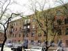 Клинский пр., д. 3 / Можайская ул., д. 22. Фрагмент фасада по проспекту. Фото май 2010 г.