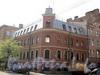 Клинский пр., д. 5 / Можайская ул., д. 17 (левая часть). Общий вид здания. Фото май 2010 г.