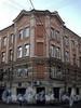 Клинский пр., д. 9 / Верейская ул., д. 19. Фрагмент угловой части фасада. Фото май 2010 г.
