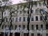 Клинский пр., д. 21. Фрагмент фасада здания. Фото май 2010 г.