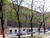 Клинский пр., д. 22 / Бронницкая ул., д. 18. Фасад по проспекту. Фото май 2010 г.