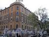Перспектива четной стороны Клинского проспекта от Бронницкой улицы в сторону Батайского переулка. Фото май 2010 г.