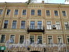 Клинский пр., д. 27 (правая часть). Фрагмент фасада. Фото май 2010 г.