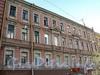 Клинский пр., д. 27, лит.А / Московский пр., д. 42. Фрагмент фасада по Клинскому проспекту. Фото май 2010 г.