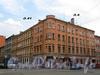 Малодетскосельский пр., д. 6 / Можайская ул., д. 41 (угловая и левая части). Общий вид здания. Фото май 2010 г.