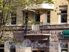 Малодетскосельский пр., д. 32, лит. Б. Решетка балкона. Фото май 2010 г.