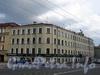Московский пр., д. 50 / Малодетскосельский пр., д. 42 (правая часть). Общий вид здания. Фото май 2010 г.