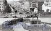 За Знаменской церковью высится доходный дом Д. А. Дурдина (гостиница «Эрмитаж»). Вид от пл. Восстания. Фото 1920-1930-х годов