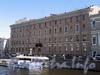 Вознесенский пр., д. 3. Фасад по набережной реки Мойки. Фото июнь 2010 г.