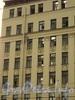 Лиговский пр., 145. Внешний вид фасада, после обрушения перекрытий. Фото 1 сентября 2010 г.