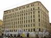 Лиговский пр., 145/ул. Тюшиина, д.2. Общий вид здания после обрушения перекрытий. Фото 1 сентября 2010 г.