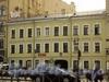 Лиговский пр., 147. Общий вид фасада здания после обрушения перекрытий в соседнем доме 145. Фото 1 сентября 2010 г.